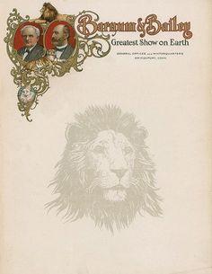 Barnum & Bailey 1909 letterhead, with Lion watermark Vintage Labels, Vintage Ephemera, Letterhead Design Inspiration, Letters Of Note, Vintage Typography, Vintage Logos, Vintage Type, Retro Vintage, Retro Logos