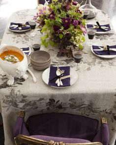 fall table setting from Camille Styles Entertaining