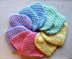 Free crochet baby hats Pattern