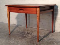 LANE MID-CENTURY DANISH MODERN END TABLE / NIGHTSTAND  ~  SUPER NICE CONDITION