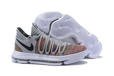 reputable site 44271 58f37 Where To Buy Nike Zoom KD Comfortable Nike Zoom EP Kevin Durant Mens  Original Basketball Shoes Medium Grey White Multi Color