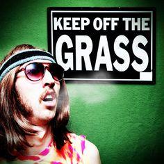 Keep Off The Grass - 'weed' flavoured e-liquid.  http://www.ecigwizard.com/e-liquid/wizmix/keep-off-the-grass.html