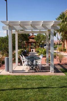 BBQ Area for our Guests! Bbq Area, Pergola, Outdoor Structures, Outdoor Pergola, Arbors, Pergolas