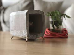 Découvrez le tuto vidéo d'une lampe faite en béton !