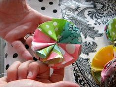 My Blonde Ambitions: Fabric Flower Tutorial