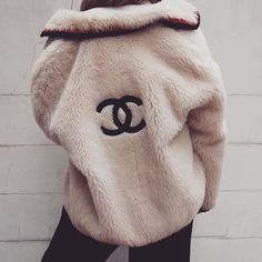 Chanel logo fur coat Im dying I need this. Winter fashion for hype bae - Chanel Clothes - Trending Chanel Clothes - Chanel logo fur coat Im dying I need this. Winter fashion for hype bae Chanel Outfit, Chanel Jacket, Fur Jacket, Fashion Outfits, Womens Fashion, Fashion Tips, Fashion Trends, Fashion Fashion, Fashion Ideas
