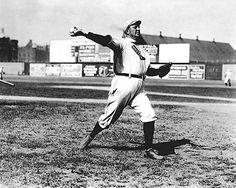 Cy Young Throwing Baseball Boston Red Sox Photo Print