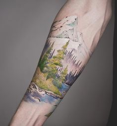 Landscape tattoo by Tritoan Ly
