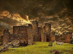 Spain - Castillo de Salvatierra de Barros, Badajoz