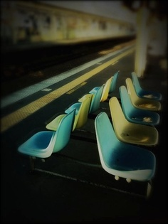 Laundromat chairs