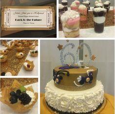. #desserts #cake #pastries #fruit #dessertshots #shooters #icing #fondant #whippedcream #raspberries #blueberries #blackberries #candiedlemon #lemoncurd #pudding #tickets #scrapbooking #papercraft #hollywood #backtothefuture #kiwi