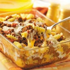 Cheesy Beef Spirals - I use homemade spag sauce and sub sharp cheddar for the processed cheese. Tastes like lasagna