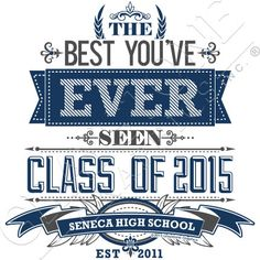 Graystone Graphics Inc. Senior Class Shirt Design