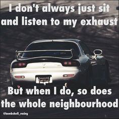 7 Best loud exhaust images in 2018 | Car Humor, Car memes, Car jokes