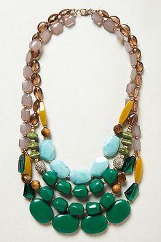 Viridian Layer Necklace