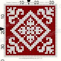 """ru / gabbach - Альбом """"Le Filet Ancien V"""" Cross Stitch Kits, Counted Cross Stitch Patterns, Cross Stitch Designs, Cross Stitch Embroidery, Crochet Cross, Filet Crochet, Crochet Pillow, Crochet Doilies, Filets"""