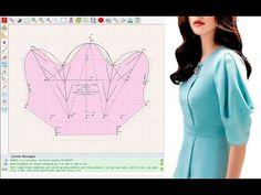 Dress Sewing Patterns, Clothing Patterns, Sewing Sleeves, Sleeves Designs For Dresses, Pattern Cutting, Diy Dress, Fashion Sewing, Pattern Drafting, Sewing Techniques
