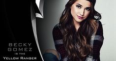 'Power Rangers' Reboot Casts Becky G. as the Yellow Ranger -- Singer/actress Becky G. has come aboard as the final main character, the Yellow Ranger in Lionsgate's highly-anticipated 'Power Rangers' reboot. -- http://movieweb.com/power-rangers-movie-reboot-yellow-ranger-becky-gomez/