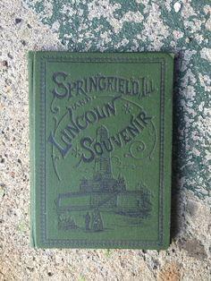 NIneteenth/Early 20th Century Hardbound Springfield Illinois