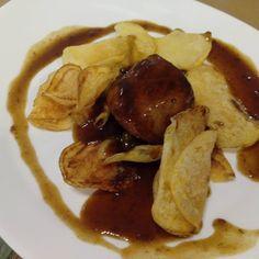 Mmmmm! Solomillo con café y regaliz en el menú degustación del restaurante @PetitComite_Zaragoza (Hernando de Aragon 1)