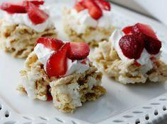 Strawberry Shortcake Chex Treats