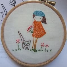embroidery pattern giveaway 003 by lili_popo, via Flickr
