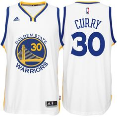 8fcce5ffe08 Stephen Curry Jersey  adidas White Swingman  30 Golden State Warriors NBA  Home Jersey