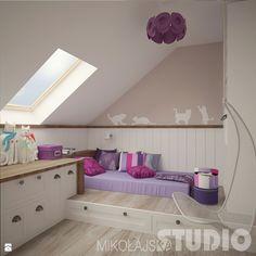 Pokój dla dziewczynki w stylu vintage - zdjęcie od MIKOŁAJSKAstudio - Pokój dziecka - Styl Vintage - MIKOŁAJSKAstudio