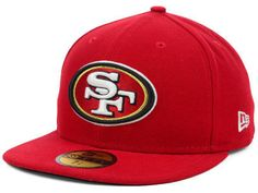 NFL Sideline Fitted Caps · San Francisco 49ers New Era