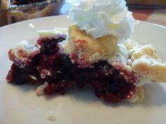 Gluten Free Cherry Berry Pie - for Dad