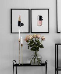 Snygga tavlor med fashion motiv online.