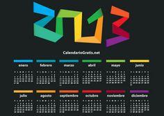 Plantillas gratuitas para hacerte tu propio calendario 2013 personalizado con fotos | Saber de fotografía es facilisimo.com