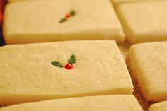 Vanilla bean shortbread cookie recipe!!