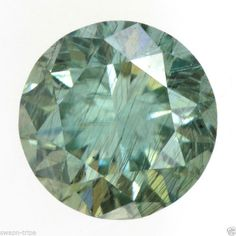 MOISSANITE I1 CLARITY JEWELRY GREENISH COLOR GEMSTONE 0.50 CT LOOSE ROUND SHAPE