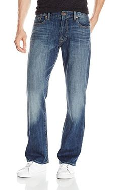 Lucky Brand Men's 181 Relaxed Straight-Leg Jean, Denali, 31x32 ❤ Lucky Brand Men's Collections