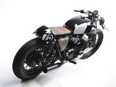 Wow! Beautiful Honda #CafeRacer CB750 MHF014 by MotoHangar #motorcycles #motos | caferacerpasion.com