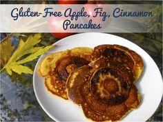 Gluten Free Apple Fritter Pancake recipe by Alison Smith PhD of alisonsmith.com #glutenfree #sugarfree
