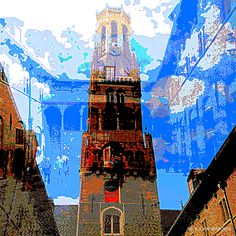 https://flic.kr/p/xxz5iT | Mix-Up (Bruges) | The Belfry and I'ts Halls.