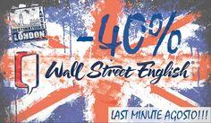 Approfitta del nostro LAST MINUTE! Se ti iscrivi entro il 31 agosto fino al 40 % di sconto (a seconda della tipologia di corso) Contattaci per le info 0899956945 #wallstreetsalerno