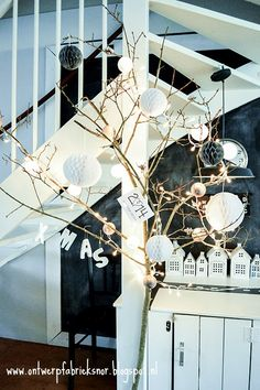 Ontwerpfabriek Snor: Kerstversiering met cotton balls