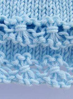puntomoderno.com jersey de bebé con flores Baby Knitting Patterns, Merino Wool Blanket, Diy Crafts, Stitches, Tube, Ideas, Knitting Sweaters, Knitting Patterns, Knits