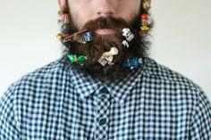 LEGO beard. Naturally.