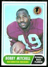 1968 Topps Regular (Football) Card# 35 Bobby Mitchell of the Washington Redskins ExMt Condition by Topps. $3.00. 1968 Topps Regular (Football) Card# 35 Bobby Mitchell of the Washington Redskins ExMt Condition