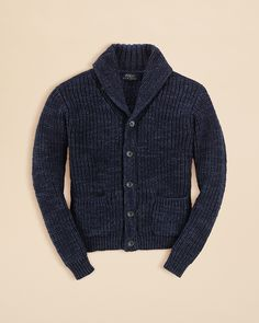 Ralph Lauren Childrenswear Boys' Shawl Collar Cardigan - Sizes 2-7 | Bloomingdale's