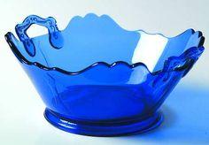 Pleasant-Cobalt Blue at Replacements, Ltd Antique Bottles, Vintage Perfume Bottles, Vintage Glassware, Antique Glass, Glass Ceramic, Ceramic Pottery, Slab Pottery, Ceramic Art, Cut Glass