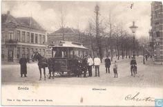 Paardentram in de Willemstraat uit 1905.