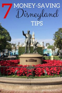 7 Money Saving Tips for Disneyland: Planning to travel to Disneyland and California Adventure in Anaheim for your next vacation? Stay within your family's budget with these 7 money saving tips.