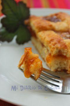 Kuchen con mermelada Quiche, Breakfast, Food, Yummy Cakes, Easy Food Recipes, Desserts, Cook, Sugar Flowers, Baking