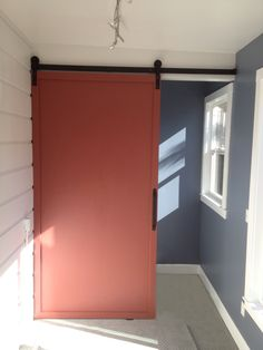 Another happy customer with great results. http://rusticahardware.com/nylon-barn-door-hardware/