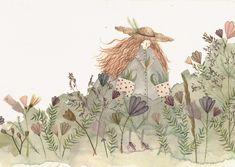 Les illustrations brodées de Megan Griffiths - Plumetis Magazine